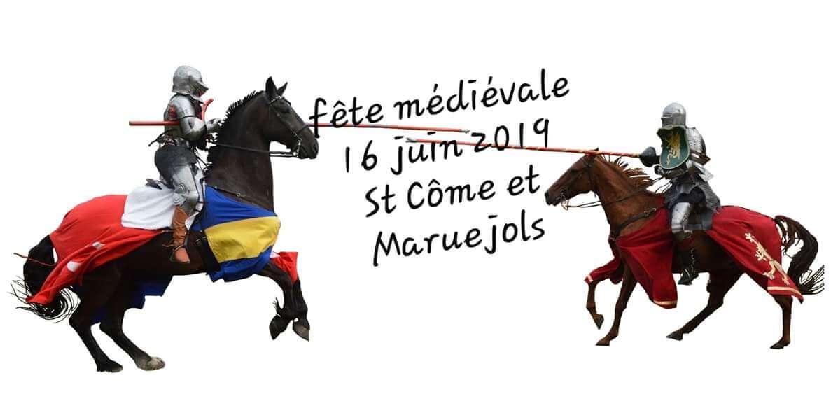 fête médiévale St Côme et Maruejols