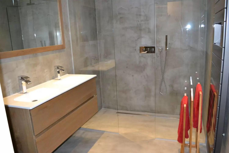 Badkamer Beton Interieur : Stucco beton een robuuste beton uitstraling jg stukadoors