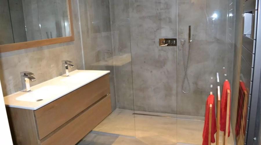 beton cire badkamer jg stukadoors hillegom