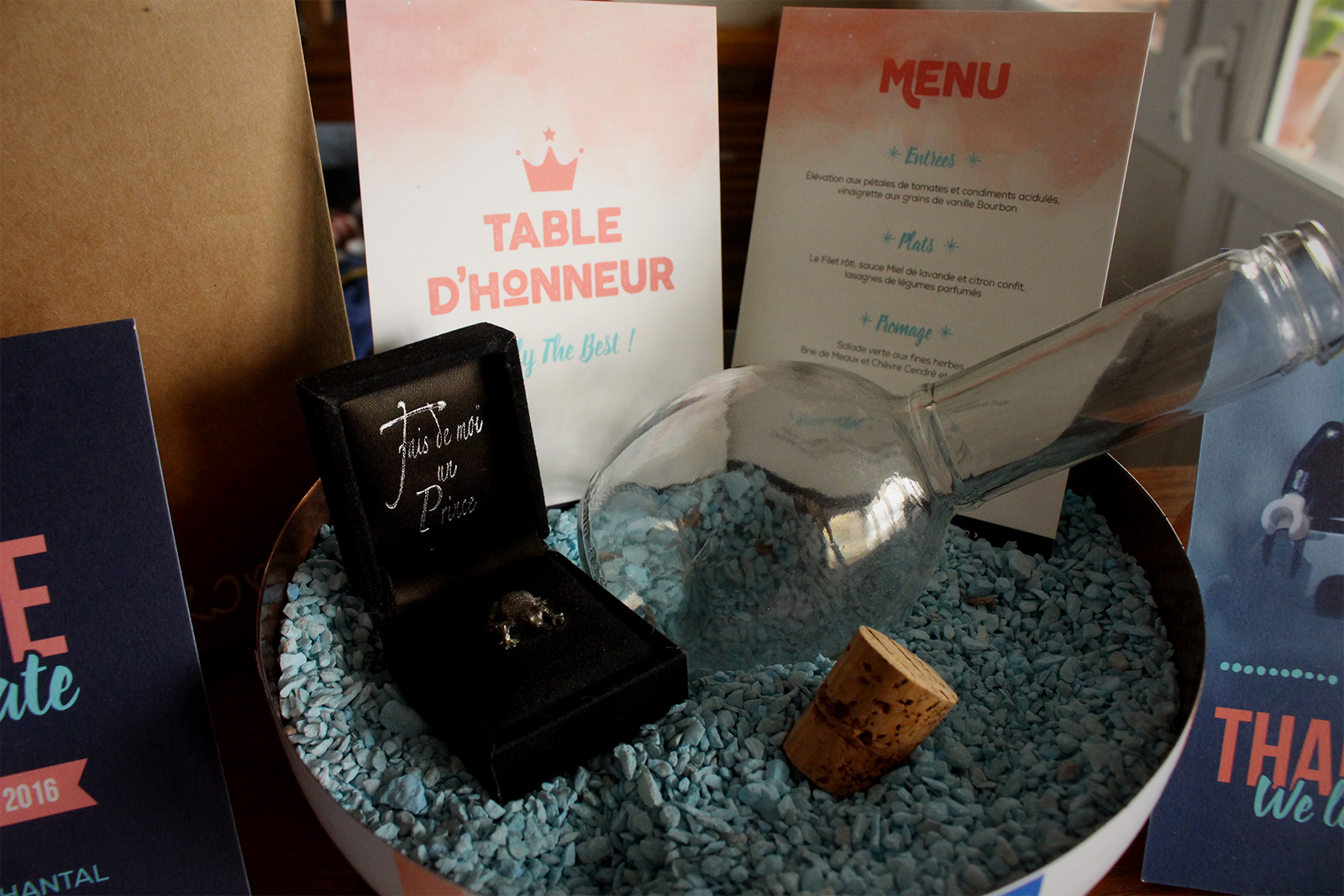 menu & n° table