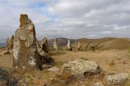 Zorats Karer 2008, part of the stone circle