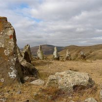 Zorats Karer 2008, part of the stone circle