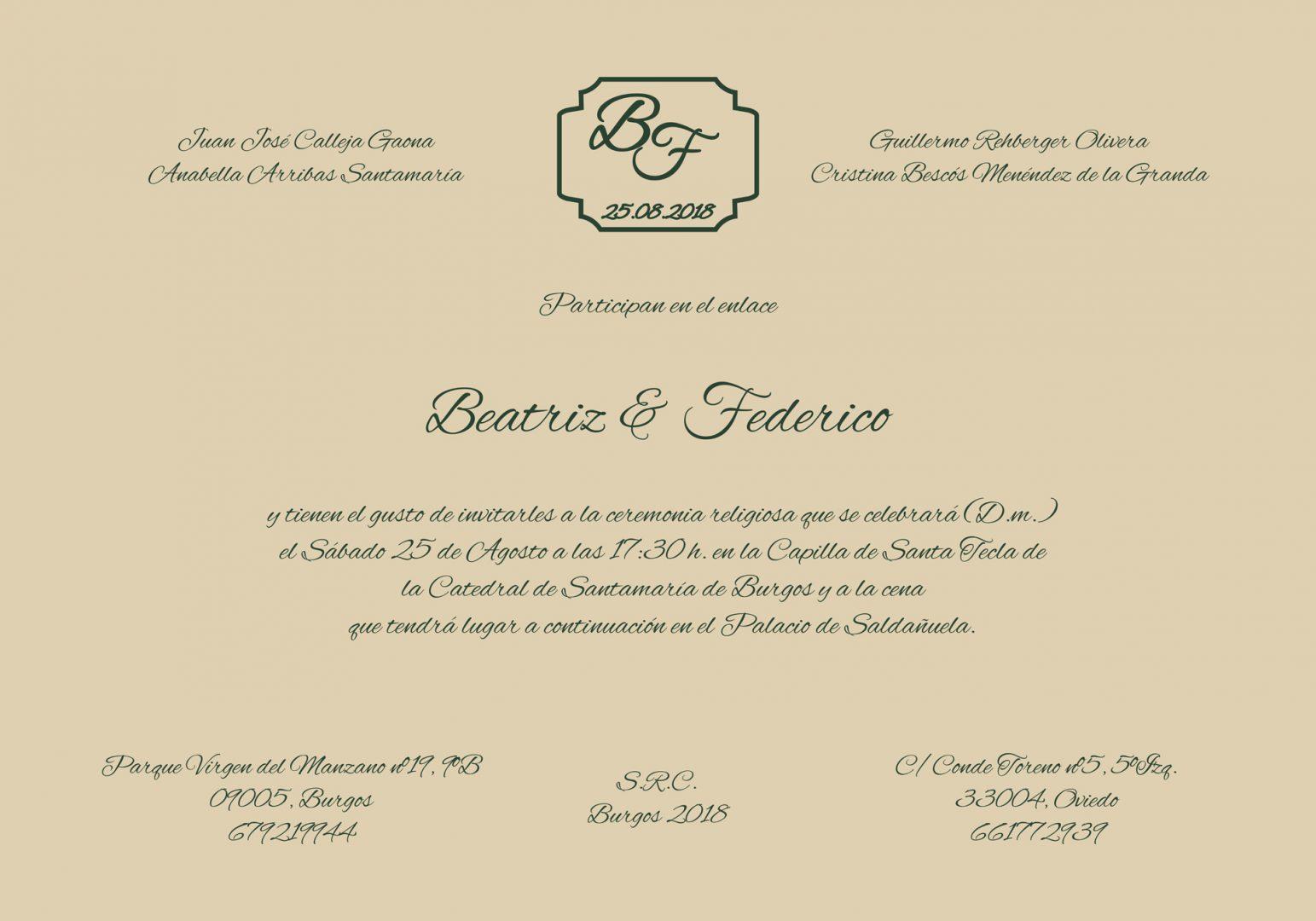 Invitaciones De Boda Sobres Y Tarjetas Jg Design
