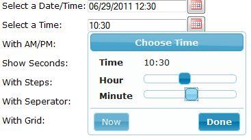 Struts2 jQuery Datepicker Tag with Timepicker Addon