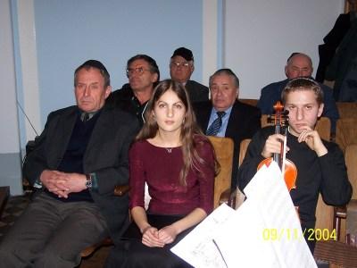 Preisverleihung 2004
