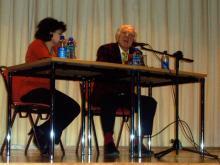 Treffen mit Oleg Popov 2005