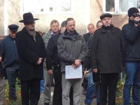 Gedenkveranstaltung zur Pogromnacht (Halle, 2012)