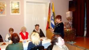 Chanukkafeier im Frauenbund 2009