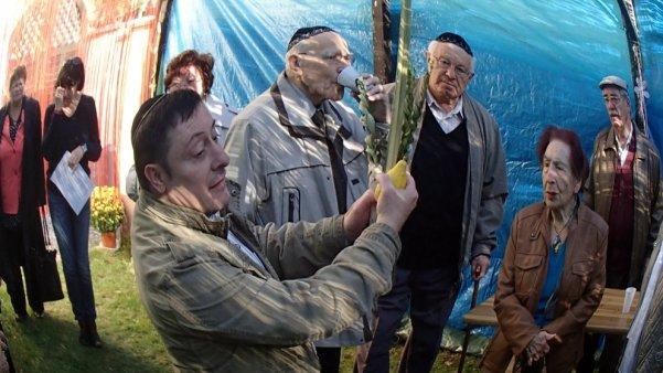 Sukkot für Senioren 2015