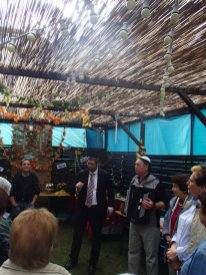 Sukkot für Senioren 2013