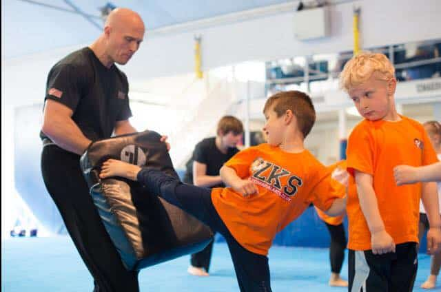 school children martial arts high wycombe