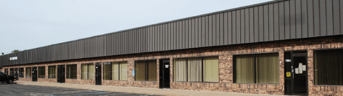 Warehouse office space for rent Fridley MN