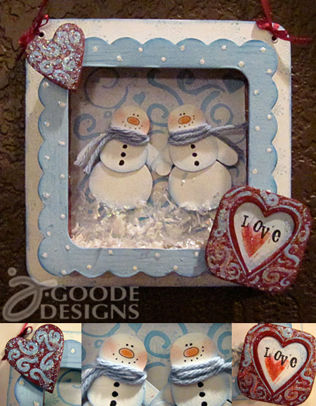 snowman love design by Jen Goode