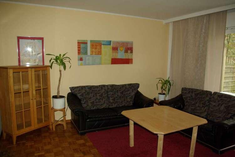 Wohnzimmer Hauptbungalow