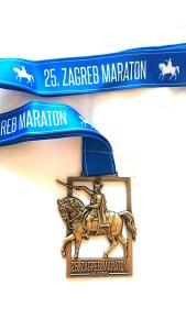 Zagreb Marathon Finisher-Medaillie