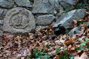 Detail Klostermauer, Naturpark DIE WÜSTE Mannersdorf