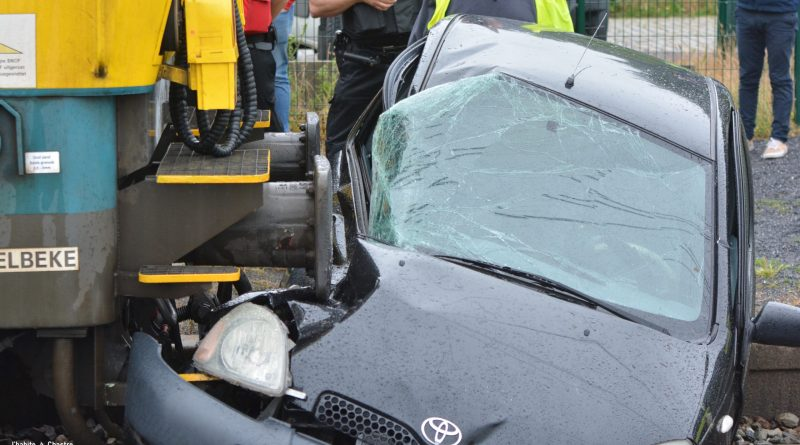 Accident de train au passage à niveau de Blanmont