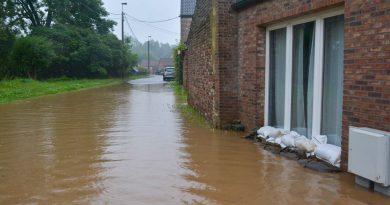 Inondations du 15 juillet : les dossiers peuvent être introduits à la région
