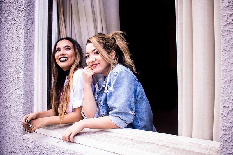 Adelaine Morin & Mia Stammer - Jhanna Shaghaghi