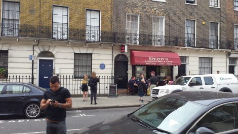 BBC Sherlock Is It Filmed In Baker Street?