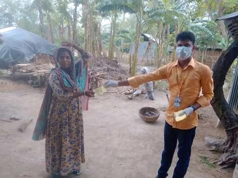 ঝিনাইদহে রিকো এনজিও উদ্দ্যোগে ঈদ উপহার বিতরণ