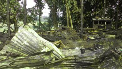 Photo of শৈলকুপায় আগুনে পুড়ে দিনমজুরের বসতবাড়ি পুড়ে ছাই