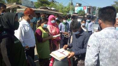 Photo of হরিণাকুন্ডুতে 'নো মাস্ক, নো সার্ভিস' ক্রাশ প্রোগ্রামে ৪জনকে অর্থদন্ড