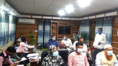Photo of হরিণাকুণ্ডু উপজেলা রাজস্ব ও নদী রক্ষা কমিটির সভা