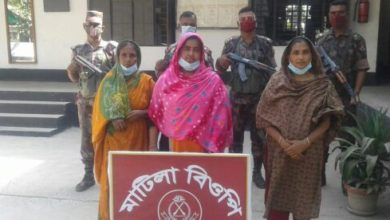Photo of ঝিনাইদহে অবৈধভাবে সীমান্ত অতিক্রমকালে ৪জন আটক
