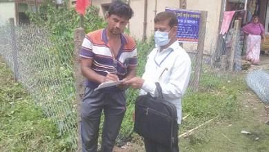 Photo of ঝিনাইদহ কোটচাঁদপুরে জমি বুঝে পেল ডিগ্রীদার