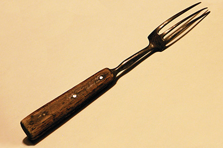 my great-great-grandmother's kitchen fork