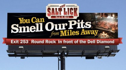 Salt Lick Billboard