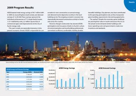 Austin Energy Green Building Annual Report 2009