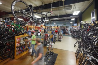Interior photography of the Bicycle Sport Shop Hwy. 183 location