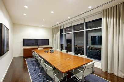Austonian Building conference room