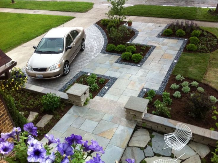 Let us realize your ideas for a driveway design