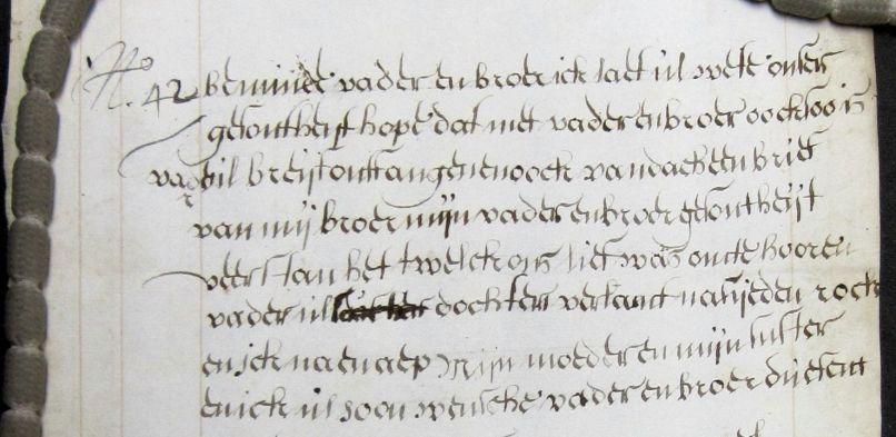 Liefde voor de Archieven: Emotionele woorden, het liefdesleven tussen 1779 en 1783 op papier