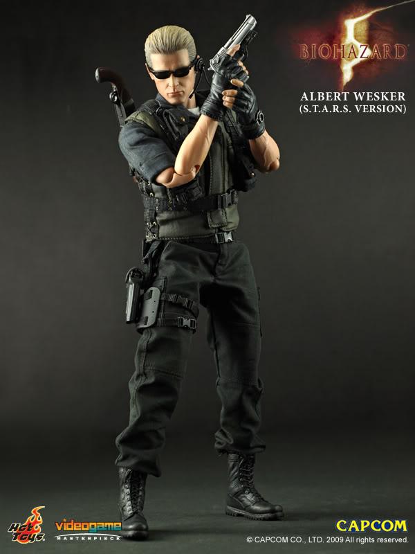 Hot Toys Resident Evil 5 Albert Wesker STARS Version