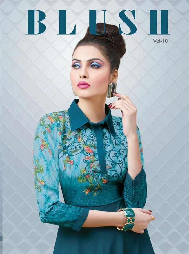 Bansi blush 10 ready made gown catalog