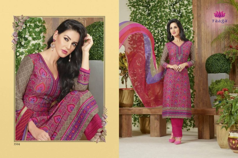 SWAGAT RAAGA SHIPRA COTTON SUITS CATALOG