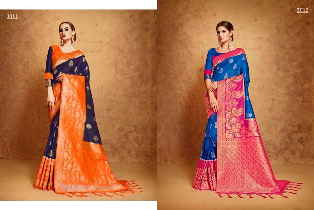 54e871493b Kianaa banaras sarees collection at Wholesale rate seller
