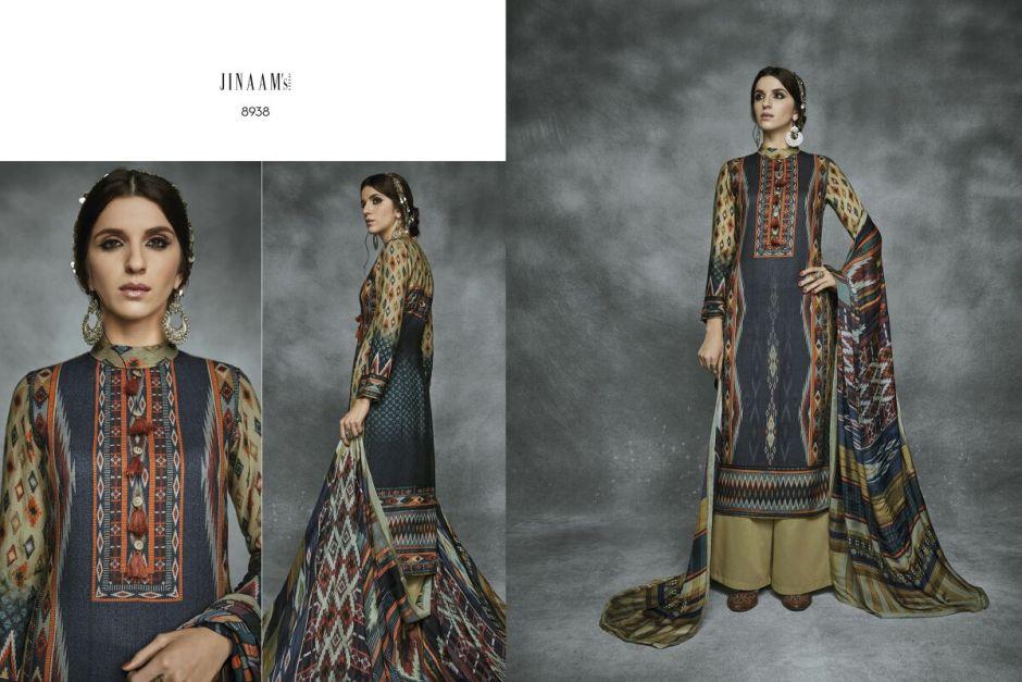 Jinaam dress presents pakistani suits aara catalouge at best price online