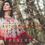Mesmora winter wear khadi ponchos collection at wholesale rate supplier