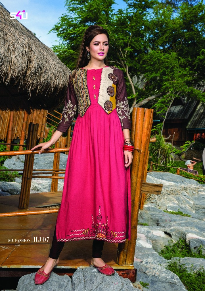 S4u by shivali hello jackets collection of jacket kurties at wholesale rate seller