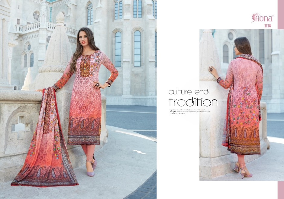 Fiona vahida digital printed daily wear salwar kameez collection
