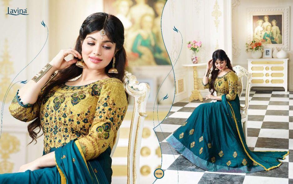 Lavina roohani vol 5 heavy embroidered lehanga's collection online seller