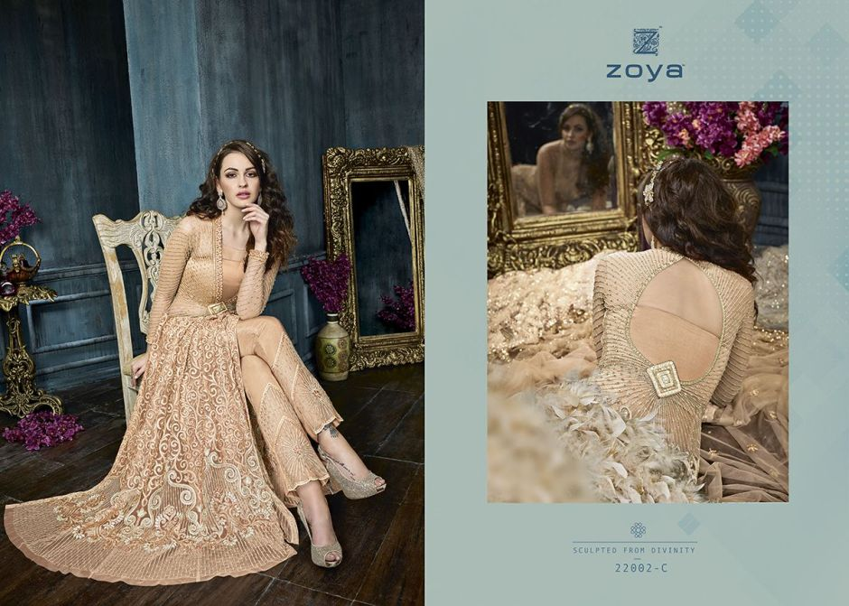 zoya celebrity colours lehanga's collection at wholesale rate
