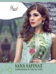 Shree fabs sana safinaz  embroidered collection Salwar Kameez