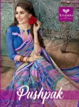 Triveni pushpak sarees collection wholesaler