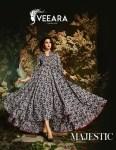 Veeara Veeara vol 2 long Gown Kurties Catalog Supplier